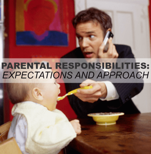 Parental Responsibilities: Expectations And Approach – Episode 30
