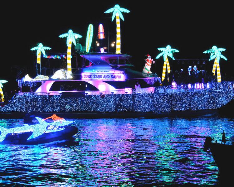 Newport Illuminated Boat Parade