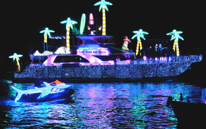 Newport Illuminated Boat Parade