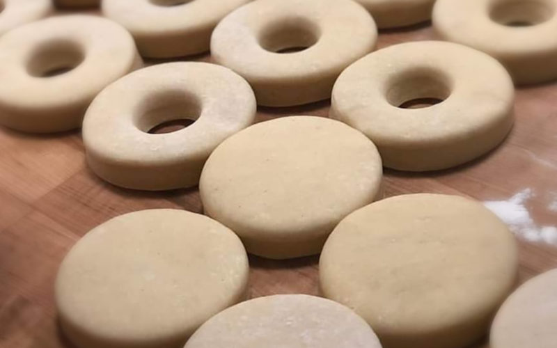 The Night Cruller Knead donuts