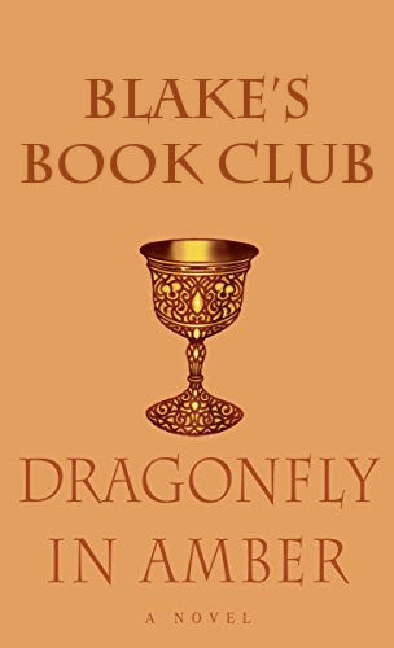 Blake's Book Club Dragonfly IN AMber