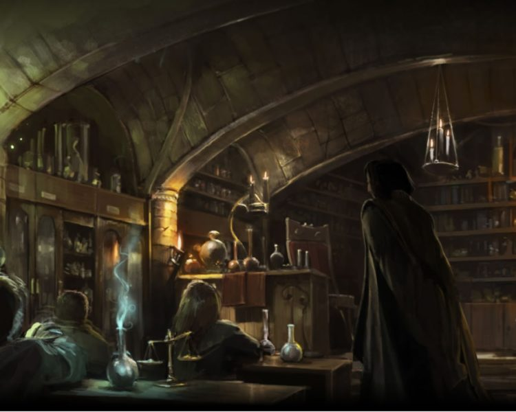 THe potions master header