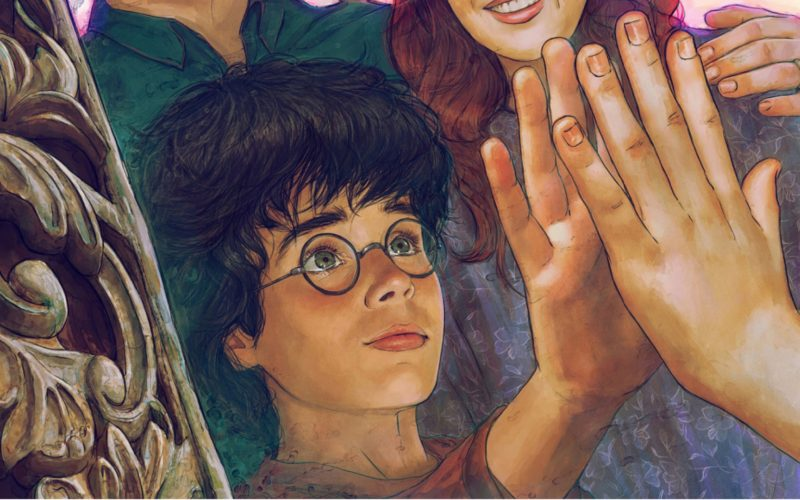 The Sorcerer's Stone The mirror Of Erised