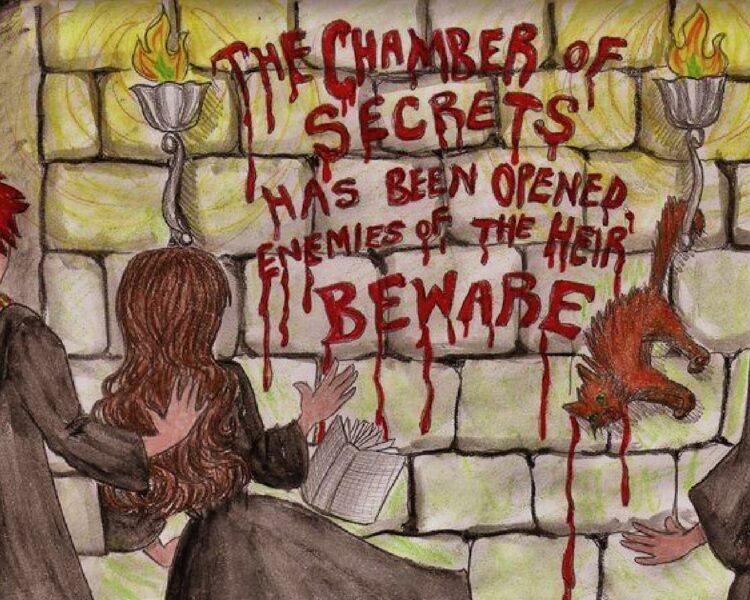The Chamber Of Secrets: THe Writing On THe Wall
