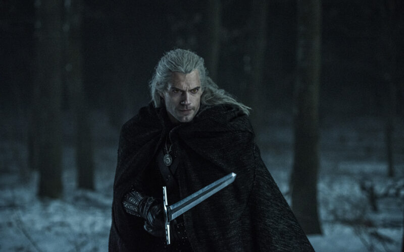 the-witcher-henry-cavill -season-2-footage