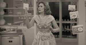 The MCU Diaries: WandaVision: 1.01 – Filmed Before A Live Studio Audience (PREMIERE)